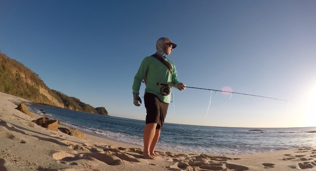 Nicaragua beach fishing