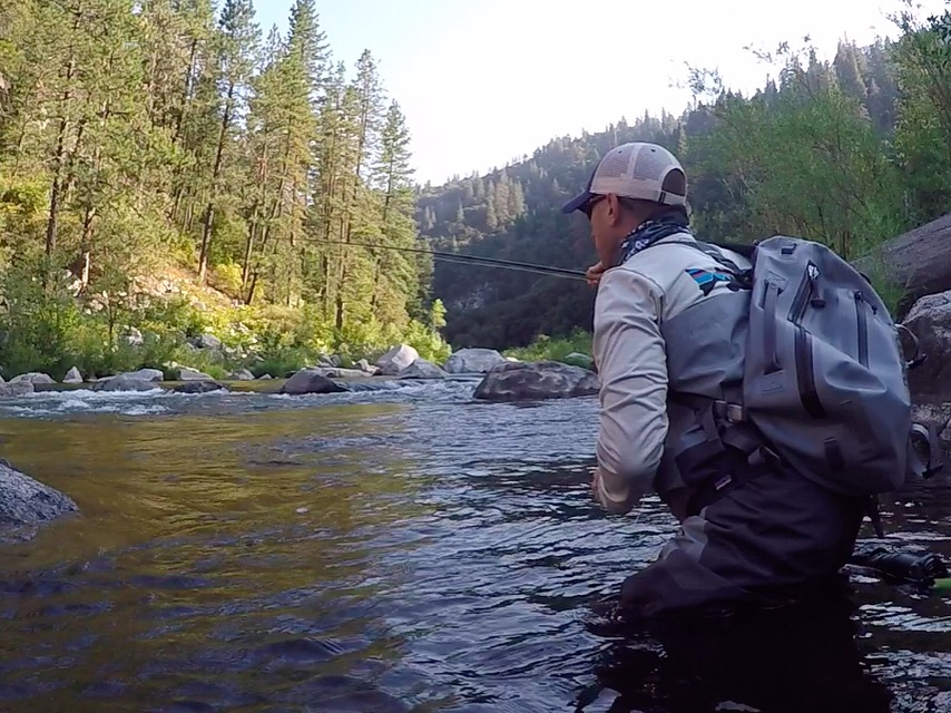 About that resolution tim harden fly for Trout fishing california